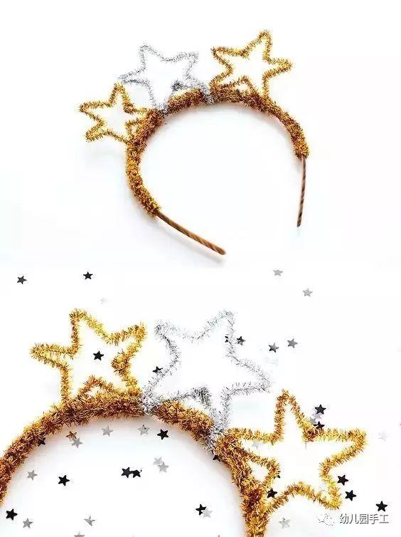 美丽手工皇冠作品 简单又漂亮公主皇冠图片