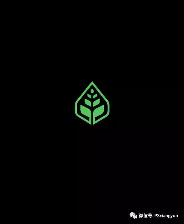 植物形态的在logo设计中的运用_标志图片