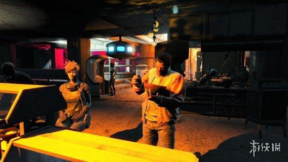 玩家将《辐射4》魔改为《赛博朋克2077》效果震撼