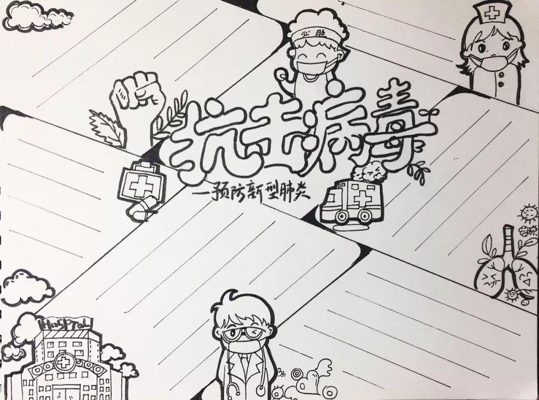 云南卡米商贸有限公司 预防新冠肺炎手抄报图片  20-01-3006:55:15画