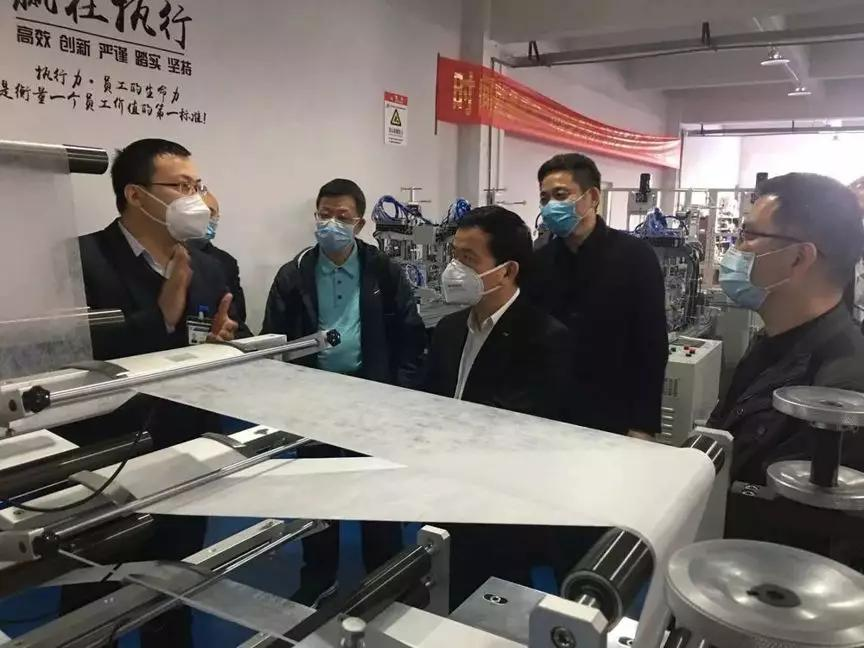 Work for prevention and control of epidemic situation GAC Group research and build mask production line
