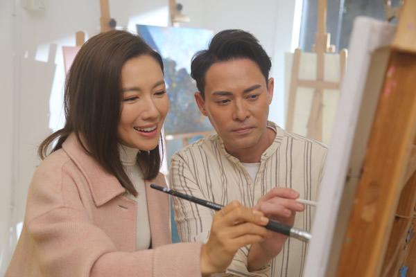 海俊杰与李施嬅合拍MV 《二次缘》 需要爱上对方?
