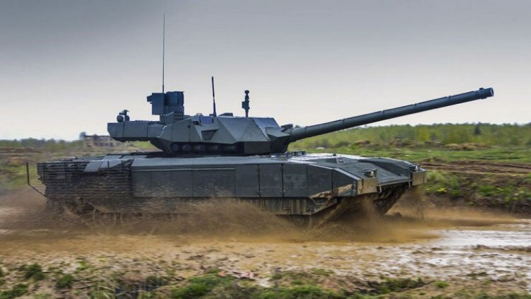 5年过去都没量产俄新款主战坦克号称领先世
