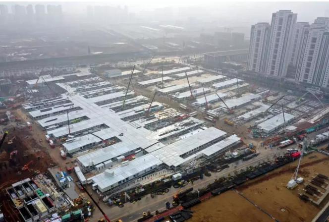 中国速度 装配式建筑助力火神山、雷神山医院建设神速完成