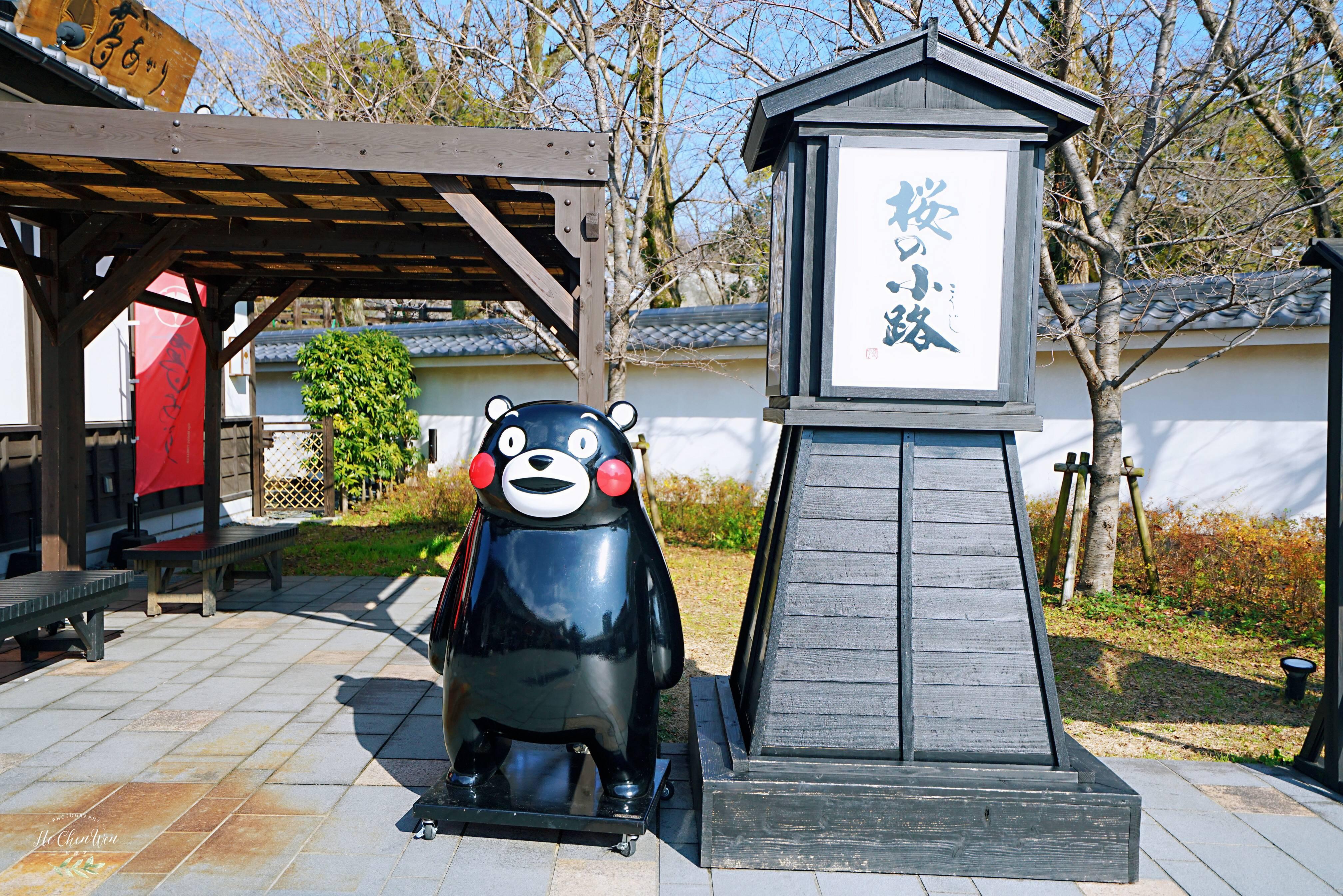 日本着名三大名城之一,又被称为银杏城,因熊本熊闻名世界