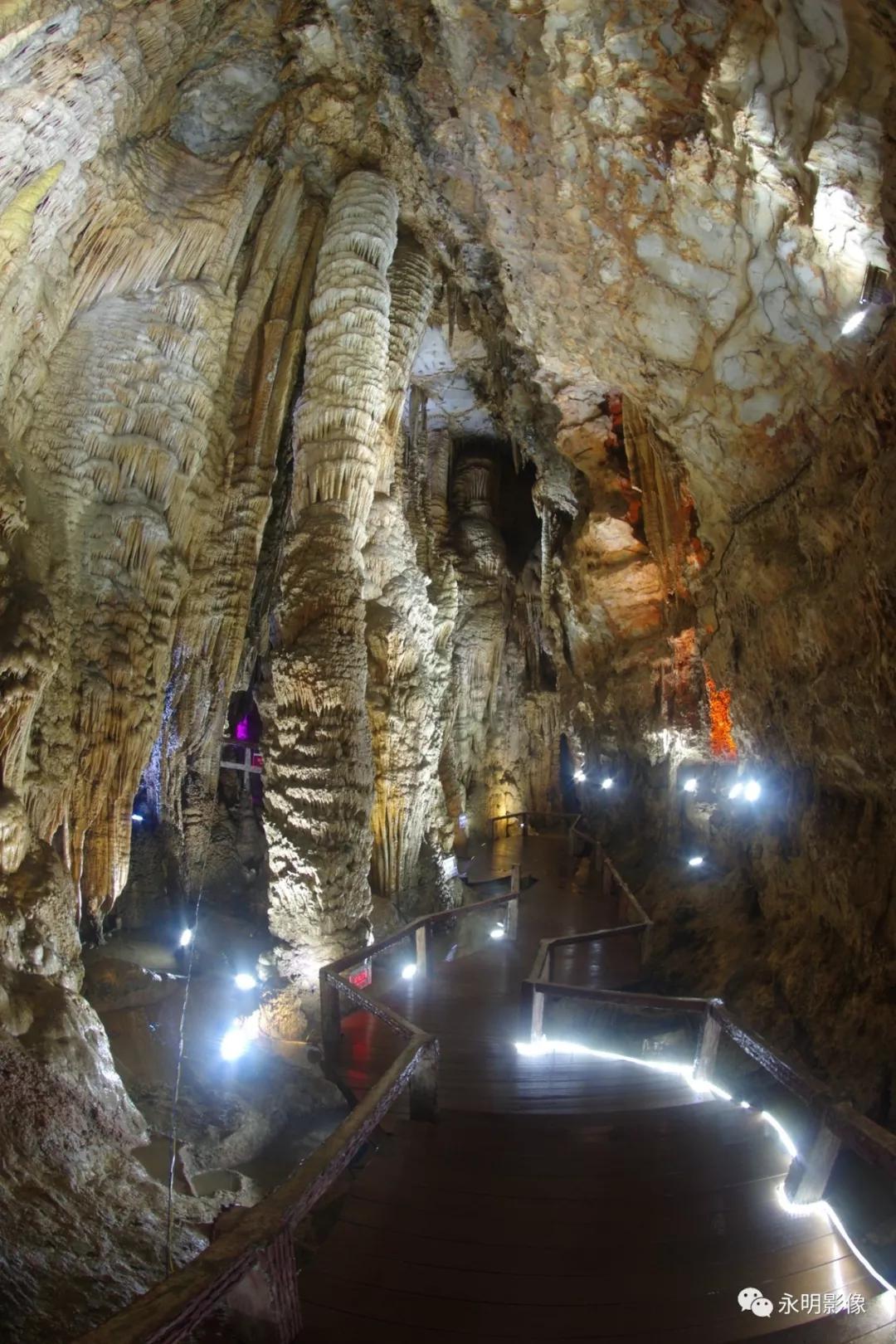 原创            中国最美溶洞、天下第一洞——中峰洞