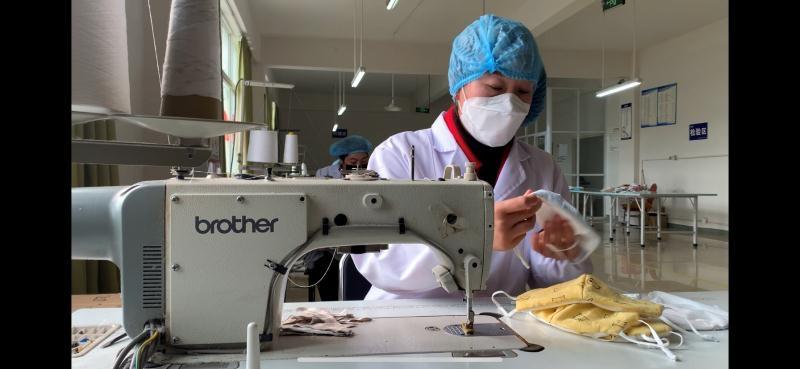 特事特办 成都彭州助力企业转产疫情防控物资