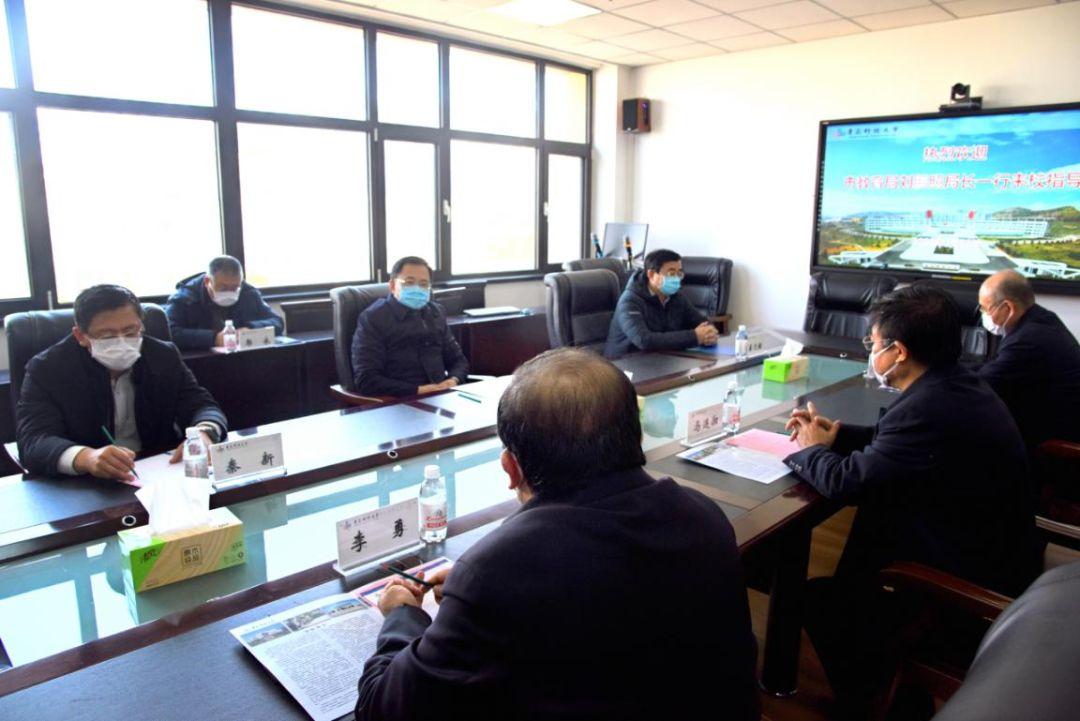 刘鹏照到青岛科技大学和青岛恒星科技学院检查督导疫情防控工作