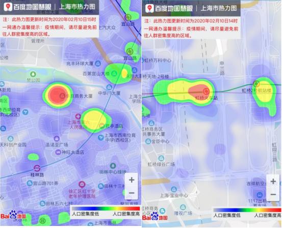 上海人口密度分布图_百度地图联合上海、深圳上线城市热力图人员密度一图解