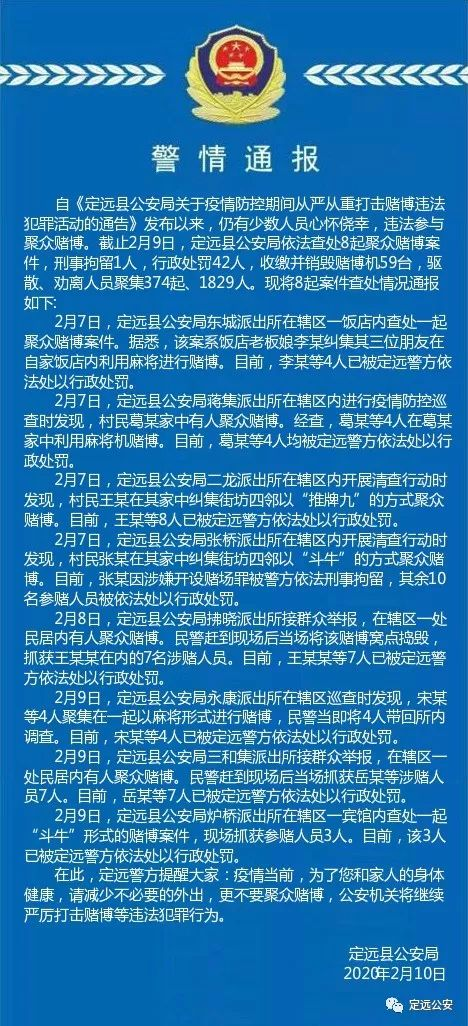 刑事拘留1人、行政处罚42人,滁州一地警方查处8起聚众赌博案件!