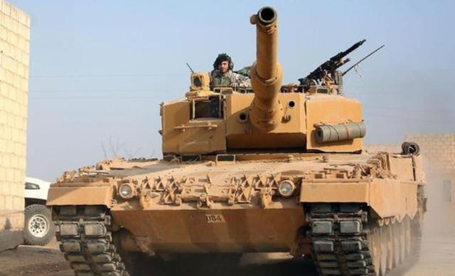 老虎部队打退装甲集群?土耳其军事基地遭炮击,埃尔多安即将报复