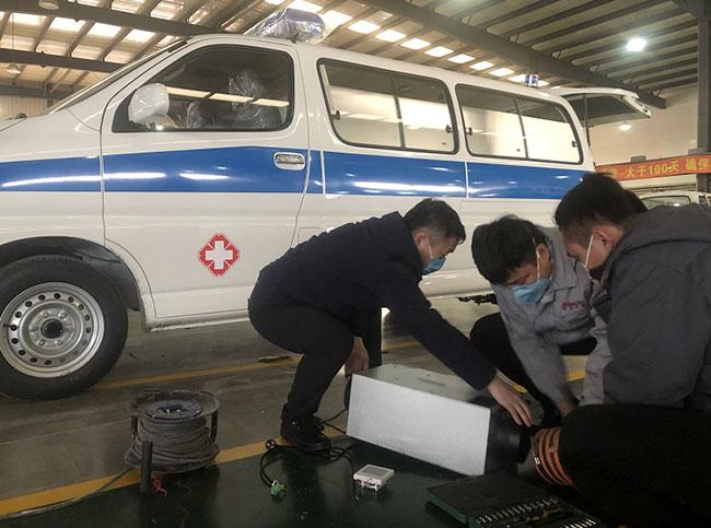 国内专业车载负压系统厂家火力驰援疫区 为负压救护车提供核心设备