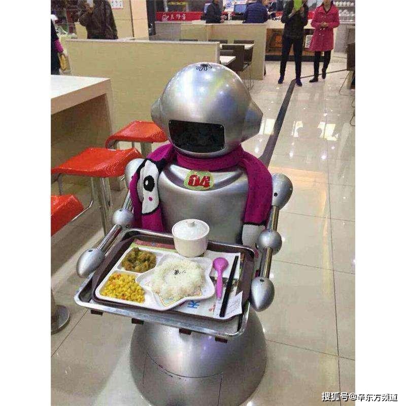 """送餐机器人提前进入市场,人工智能产业迎来""""春天"""""""