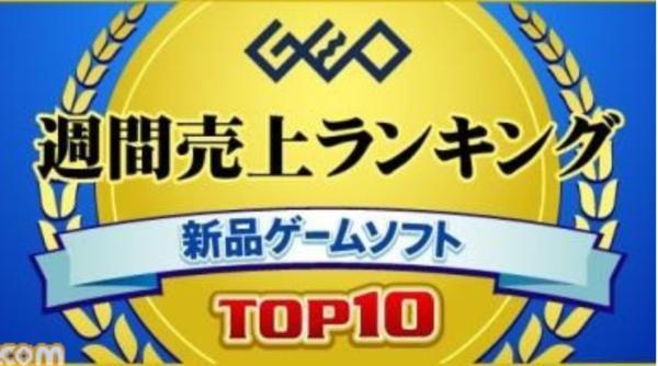 日本GEO新一周游戏销量榜:《碧蓝幻想Versus》夺魁