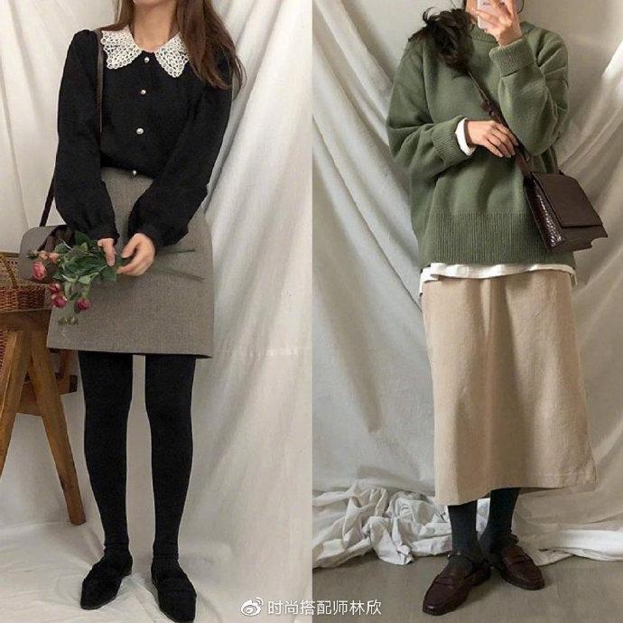 冬日减龄的轻休闲搭配,最容易复制的时尚感