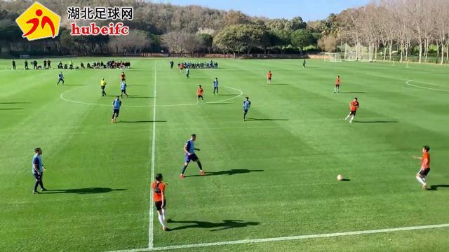 卓尔西班牙迎来教学赛,检验冬训成果,看完武汉球迷放心