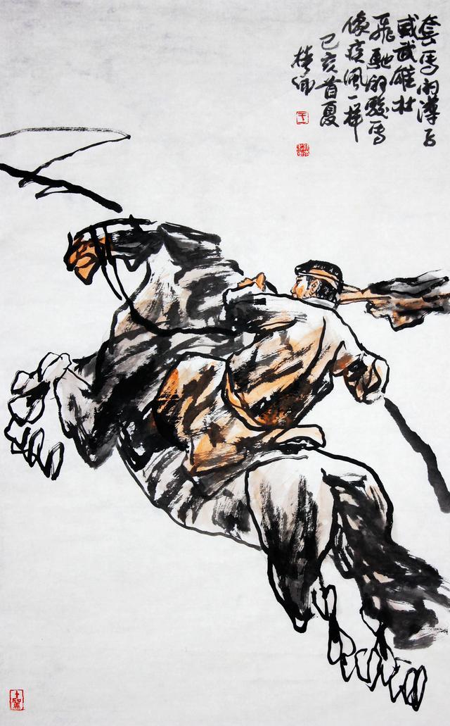 当代画马艺术研究院画家王桂卿作品欣赏