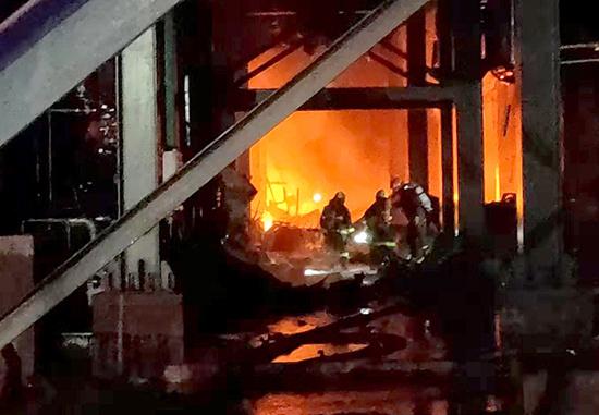 遼寧葫蘆島一企業爆炸 2人死亡 火勢已控制