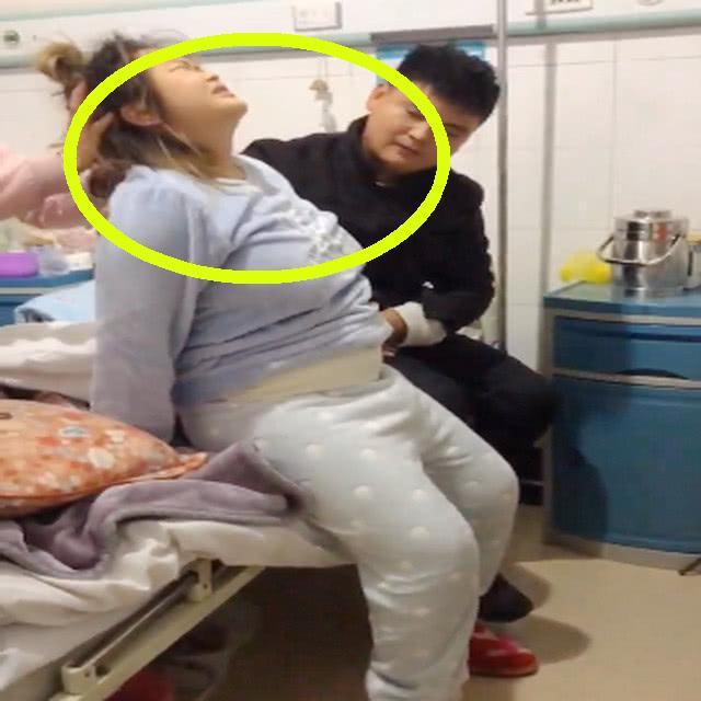 剖腹产后产妇第一次下床,目睹画面,网友眼圈红了:看着都痛