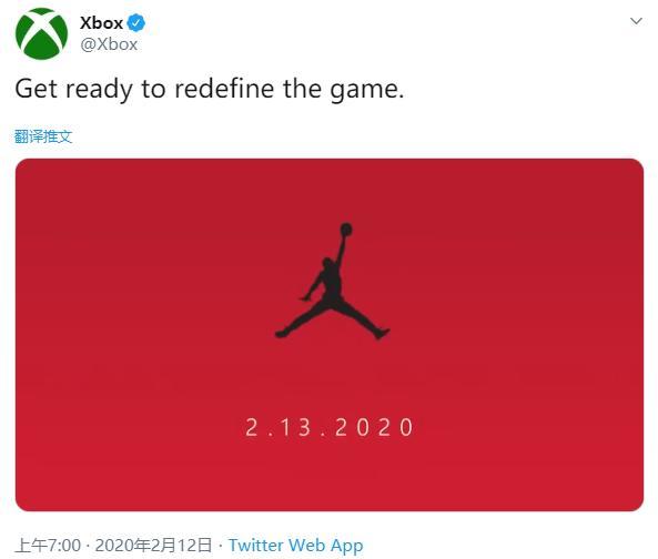 Xbox官方将与AJ联动!大红色调预告相当惹眼