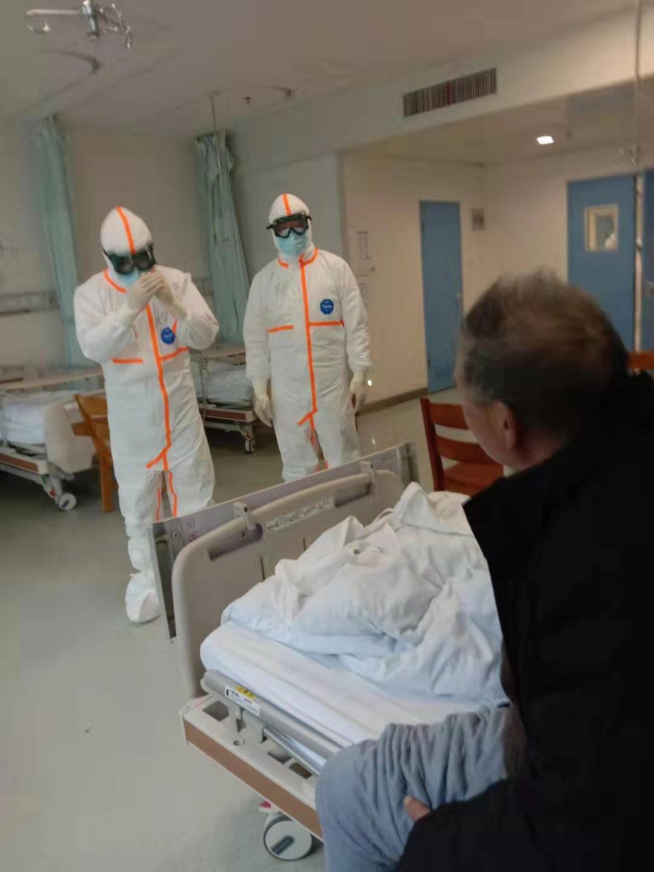武昌区政府组织对重症病人逐一道歉