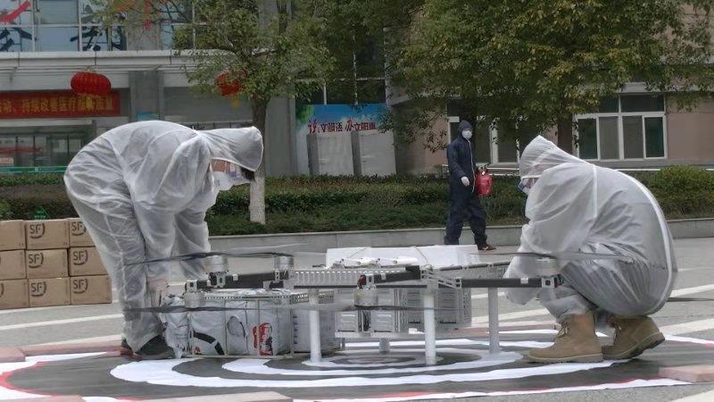 中国电科用科技为疫区构建空中应急运输生命通道