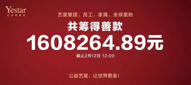 爱心接力捐赠160万,艺星整形19城联动,上海、大连艺星等23院支援武汉战疫