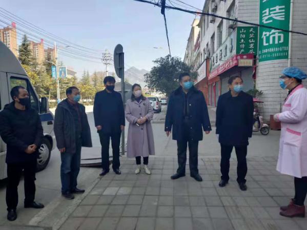 """陕西山阳县""""爱心快餐""""送一线 众志成城抗疫情"""
