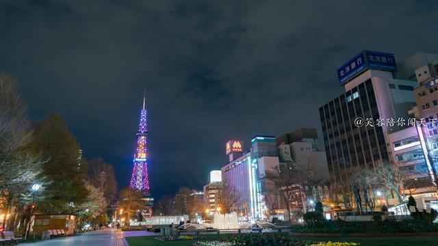 北海道地标建筑,形似东京铁塔,网友:还以为铁塔瞬移了