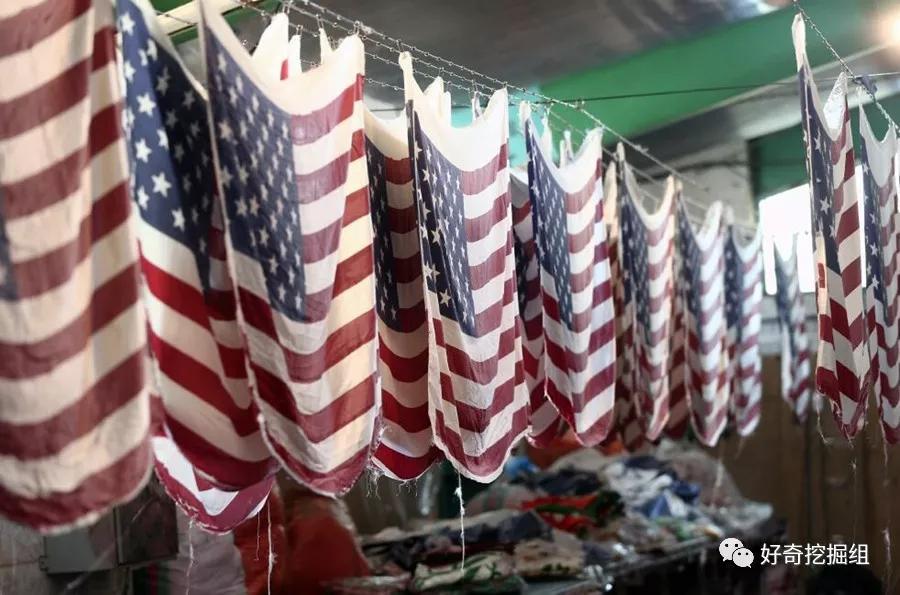 伊朗美国对抗冲突,这家专做美国国旗的工厂生意好到爆