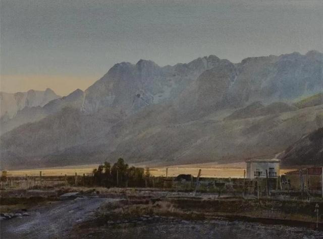 湖北美术学院教授,著名水彩画家刘寿祥因新冠肺炎在武汉逝世图片