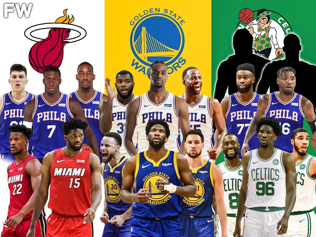 恩比德5大下家出炉,勇士格林变交易筹码,热火4换1组双星?_NBA