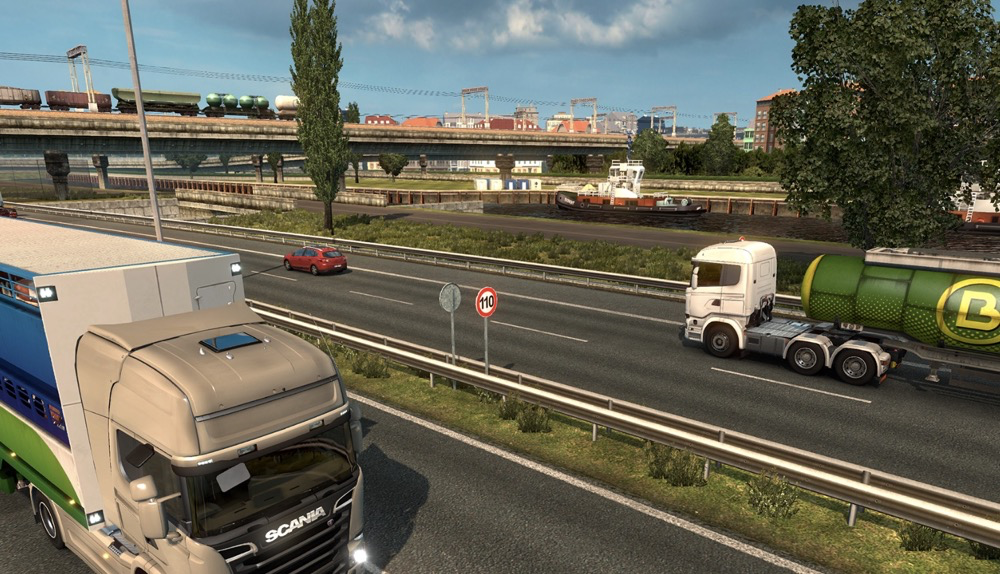 steam这款好评如潮的开车游戏打骨折听说欧洲的交通常识都在里面