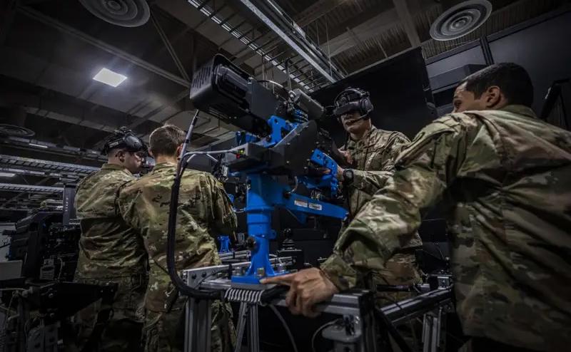 美国警卫队用VR训练士兵操控载重型武器,显着提升训练效果