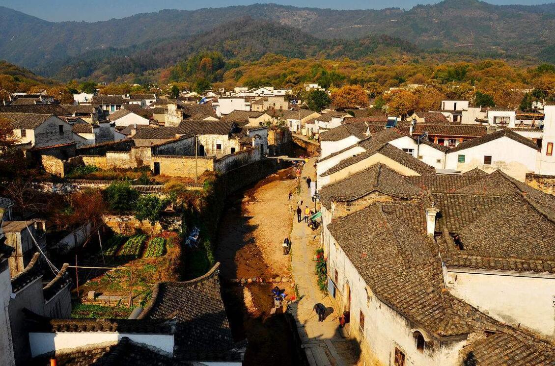 原创            未被开发这个徽州古镇存有140座古建筑,查济镇子村民几乎都姓查