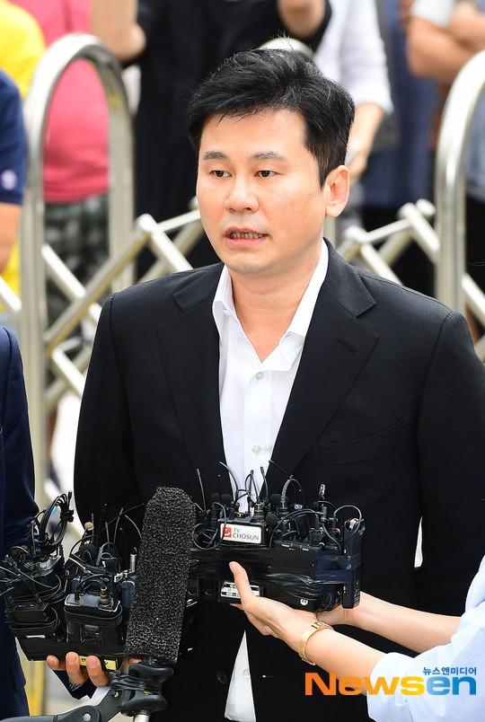 前YG娛樂公司代表梁鉉錫涉嫌脅迫舉報人被移送檢察機關