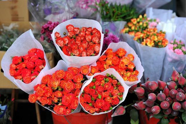 一天上百万支玫瑰被销毁 情人节玫瑰价格仅去年1/3
