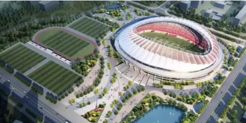 城阳规划亚洲杯体育场馆效果图(图片来源网络)图片
