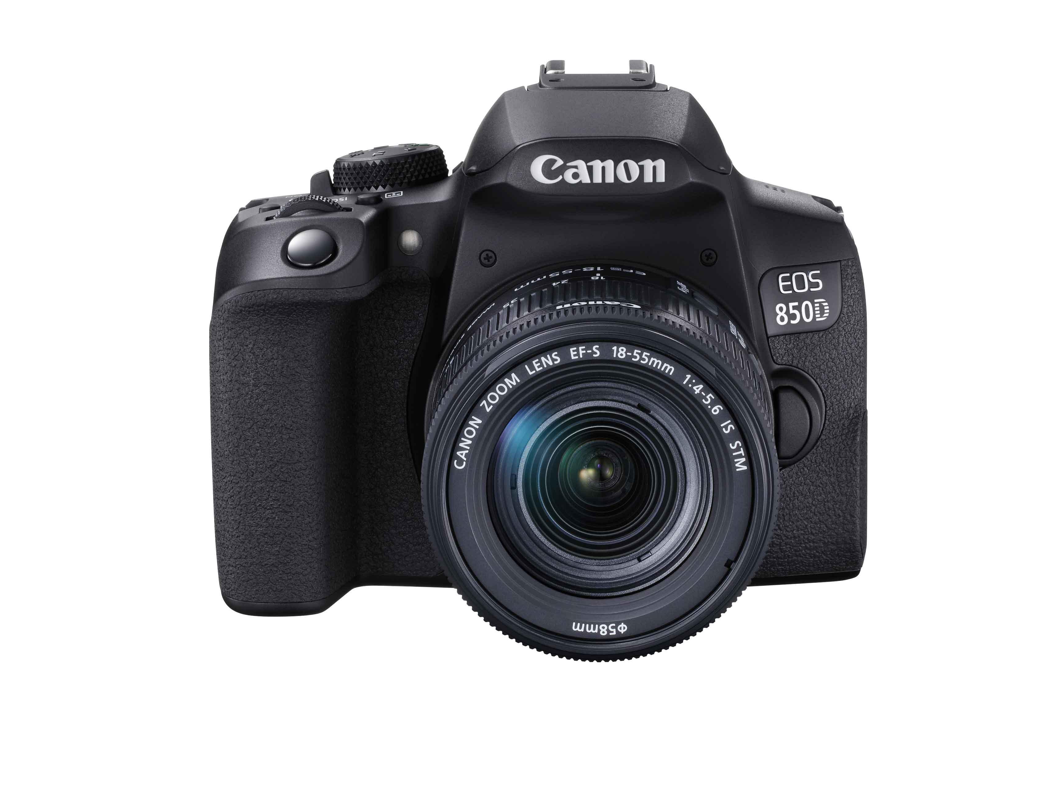 佳能推出EOS 850D单反 搭载约2410万像素的图像感应器+支持4K EOS短片