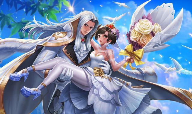 王者荣耀:情人节最适合上分的3对情侣,最强情侣不是嫦娥后羿?