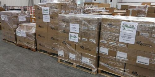 瑞典墨尼克关注中国疫情,跨洋捐赠10万只口罩及防护服等紧缺医疗物资