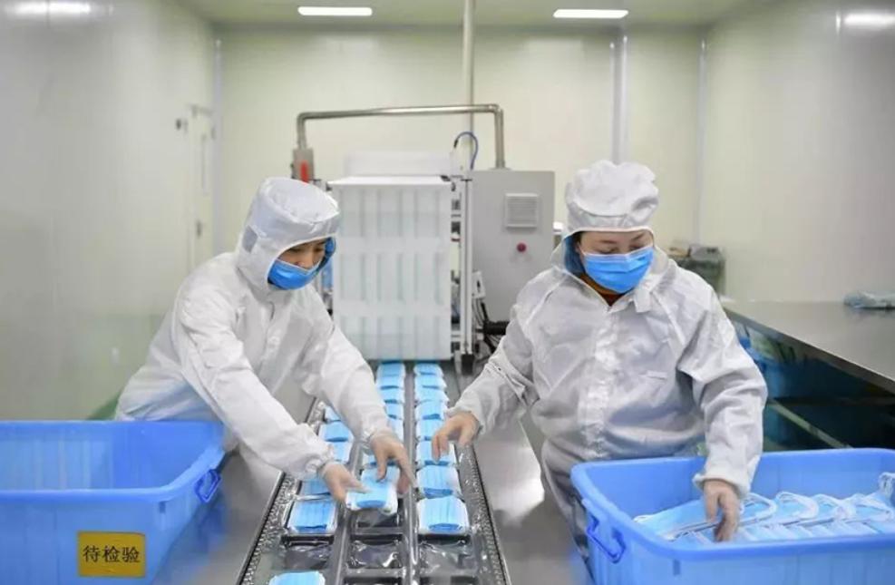 医用口罩生产标准流程与十万级洁净车间生产环境要求参考