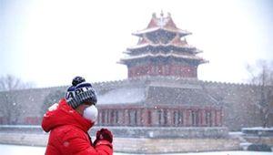 寒潮蓝色预警发布 北京将迎局地暴雪