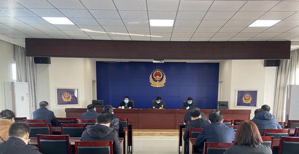 渭南市华州区小区疫情防控现场会在公安华州分局召开