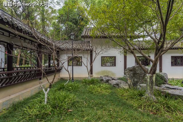 温州十大园林之首,如今免费开放,相传王羲之曾在此洗砚