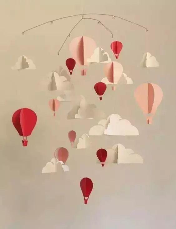 送,热气球可是小派家宝贝最拿手的手工啦