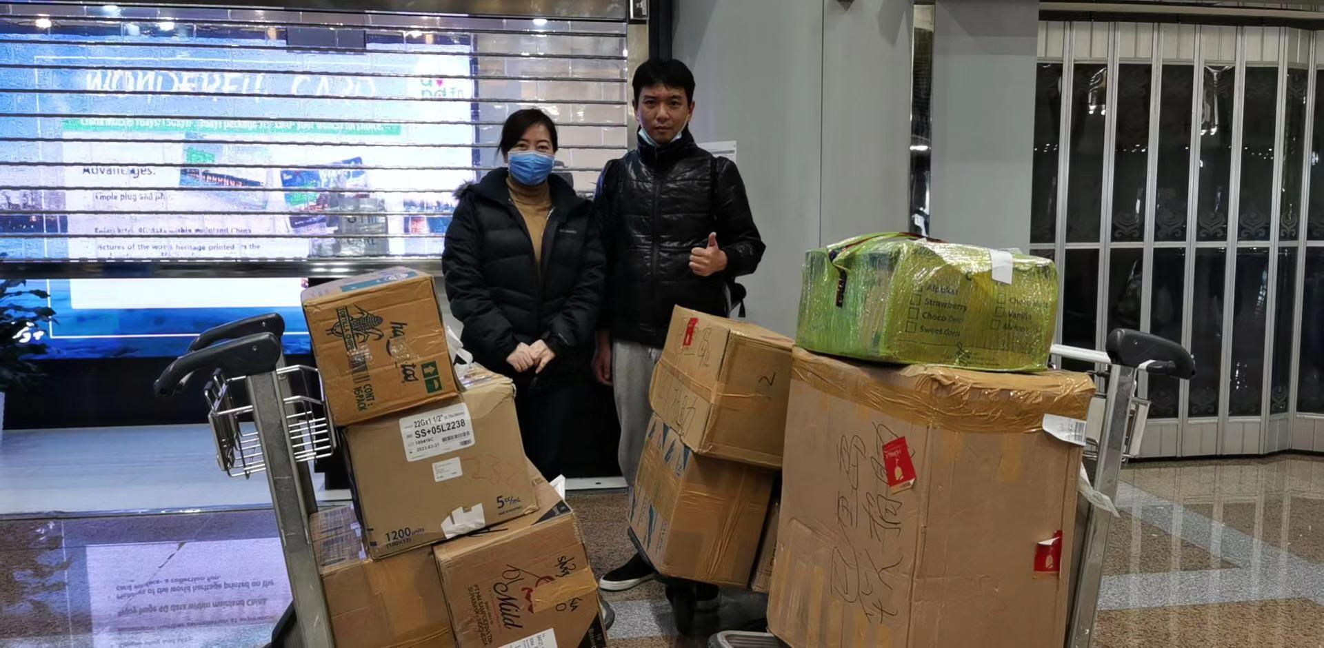 """北京莲心慈善基金会""""抗疫""""快讯"""