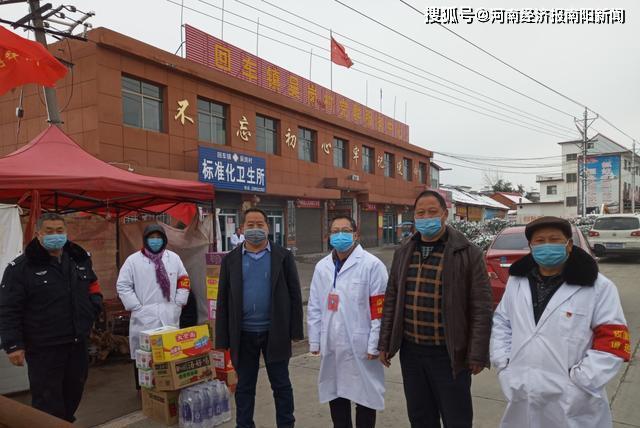 西峡县回车镇:顶风冒雪担使命 企业捐赠显爱心