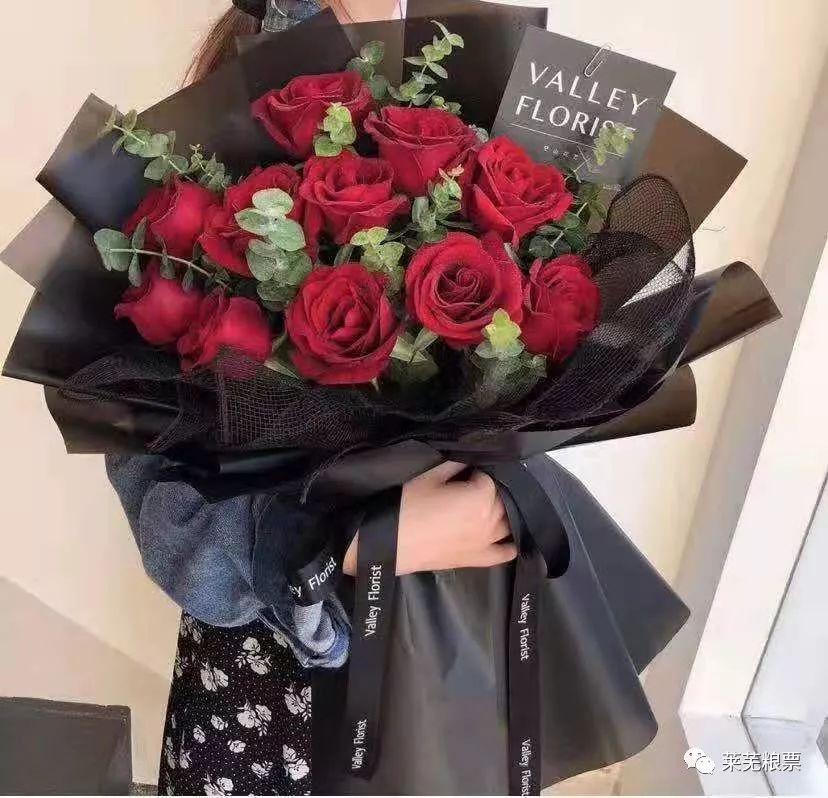 11朵红玫瑰精美花束