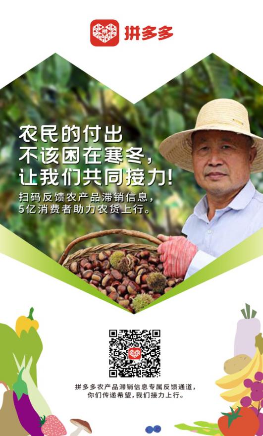<b>拼多多全网征集农产品滞销信息,协助农户卖货</b>